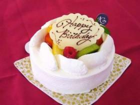 お誕生日ケーキと特典