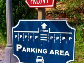 案内サイン板設置