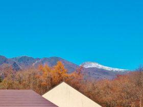 秋から冬へ向かう那須